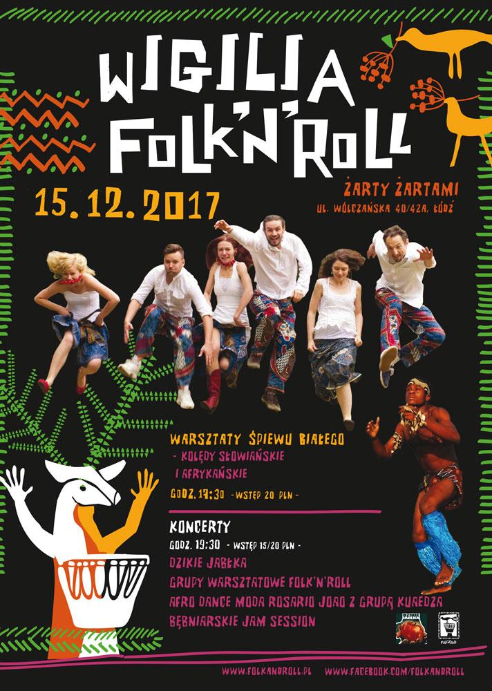 plakat-wigilia Folk'n'Roll
